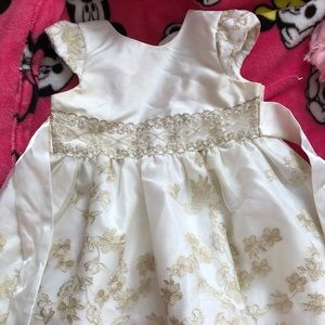 Ivory dressing dress